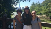 In New York with friends
