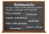Ways to think of homework