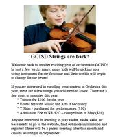 GCISD Strings