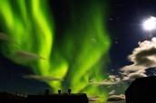 aurora australis is in the southern hemisphere