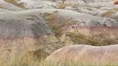 Badlands Rock Formation