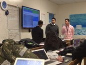 "STEM Seniors in Discrete Math discuss voter awareness and different methods ""big business"" uses to sway voters."