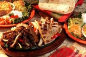 Enjoy being served with a sizzling pan