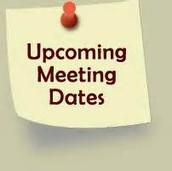 Meeting Dates