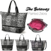 Getaway - Painted Zebra print