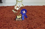 My first place Trophie