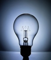 a light