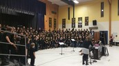 The Entire 4th Grade Chorus!