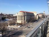Me gustó caminar en DC porque yo hablé con mis amigas.
