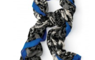 Union Square Scarf- shown here in midnight blue, $59