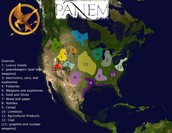 Panem's Geography & exports
