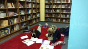Our Lady of Lourdes students love the library space