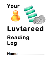 Luvtareed Reading Log booklet
