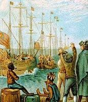 The Boston Tea Party which led to the punishing Intolerable Acts