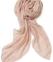 Westwood Scarf- Blush/Gold