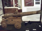 Awesome looking cannon from the La Salle Exhibit