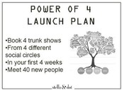 Power of 4 Launch!