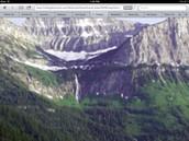 Glaciers in a valley