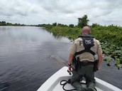 FWC Officer patrolling the water