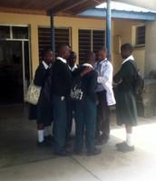Joseph at Selian Teaching Local Students