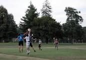 Ultimate Frisbee Club Meets