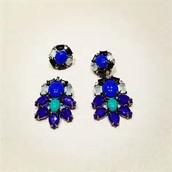 Stella & Dot Peacock Earrings