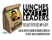 Lunches with leaders