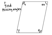 How to find the missing angles