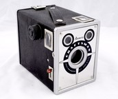 rolled film camera
