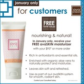 PLUS All orders of $95+ get a Free Moisturizer