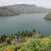 Lake Kivu, DRC and Rwanda