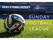 Sunday Football League!