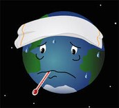 The earth geting warmer than normal