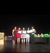 Four Seniors Receive Scholarship