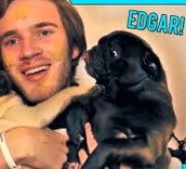 Pewdiepie and Edgar