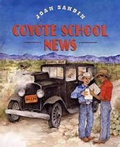 Spelling list for Coyote School News