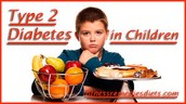 Children and teens can develop Diabetes type 2