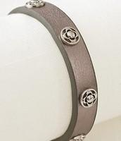 Metallic Leather Wrap