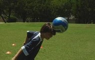 Soccer head ball