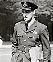 Dahl in his RAF Uniform
