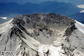 This is Mount Saint Helens after the eruption