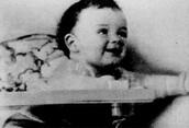 Al Capone as a baby