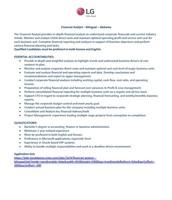 Financial Analyst- Bilingual- Alabama