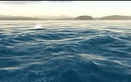This is a photo of the ocean