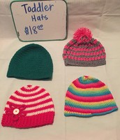 Toddler Hats $18