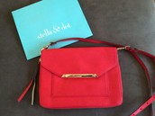Tia Cross Body (Also Used as Clutch) Red $40