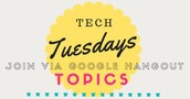 Tech Tuesday, 3:30-4:00