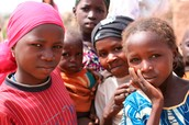 Girls in West Africa Out of School