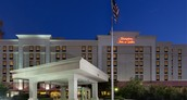 Me quedé en Hampton Hotel.