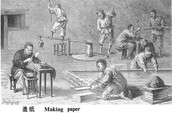How was paper made?
